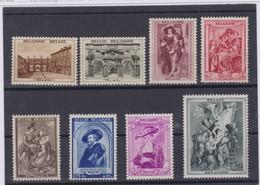 BELGIQUE 1939:  Série Complète 'RUBENS'  (Y&T 504-511), Neufs**, Forte Cote, TTB - Germany
