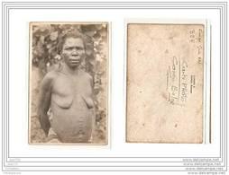 4123 AK/PC/ CARTE PHOTO/963/CONGO BELGE/FEMME SEIN NU/PANDA/KATANGA/PHOTO.GA BRIEL.L - Kinshasa - Leopoldville