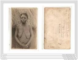 4122 AK/PC/ CARTE PHOTO/962/CONGO BELGE/FEMME SEIN NU/PANDA/KATANGA/PHOTO.GA BRIEL.L - Kinshasa - Leopoldville
