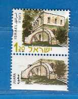 (5) Israel**- 2000 - Bàtiments - UNIF. 1507a Israel + Large. Yvert 1497.  MNH. Vedi Descrizione - Ungebraucht (mit Tabs)
