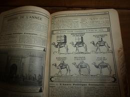 1908 Maroc;Champignons;Nuisibles à La Vigne(édit. Luxe) ALMANACH HACHETTE(Encyclopédie Populaire De La Vie Pratique) Etc - Encyclopédies