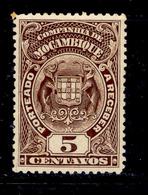 ! ! Mozambique Company - 1919 Postage Due Elephants 5 C - Af. P 35 - MH - Mozambique