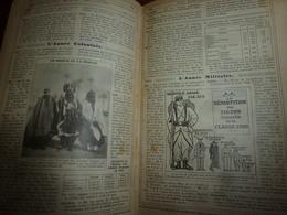 1913 BRETAGNE;etc(édit.luxe) ALMANACH HACHETTE  (Encyclopédie Populaire De La Vie Pratique);Hsun-Toung Le Fils Du Ciel; - Encyclopédies