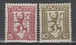 LUXEMBURGO     1930   **   MNH   NUMEROS   YVERT   232/32       VALOR     7 € - Ongebruikt