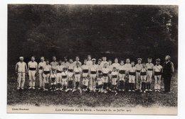 LEZAY -- Souvenir Du 10 Juillet 1927 -- Les Enfants De La Dive (gymnastique)--très Animée - Gimnasia