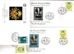 GRANDE ORIENTE  D'Italia Lotto Di Buste Molto Belle - Franc-Maçonnerie