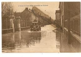 S7102- L' Union Civique Belge Secourant Les Sinistrés - Inondations