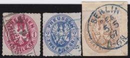 Preussen         .  Michel   .     16/18          .     O       .      Gebraucht    .    /    .    Cancelled - Preussen
