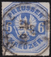 Preussen    .  Michel   .     25        .     O       .      Gebraucht    .    /    .    Cancelled - Preussen