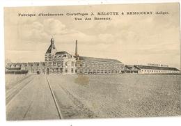 2- Fabrique D'écrémeuses Centrifuges J.Mélotte à Remicourt - Vue Des Bureaux - Remicourt