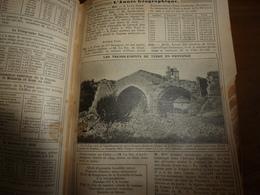 1911 Tremblement De Terre à ROGNES;Avions;etc(éd. Luxe) ALMANACH HACHETTE (Encyclopédie Populaire De La Vie Pratique); - Encyclopédies