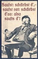 1906 ALEMANIA  , TARJETA POSTAL CIRCULADA , CERVEZA , BREWERIANA , ILUSTRADORES - MERTÉ O. , GRUSS AUS MÜNCHEN - Mertè, O.