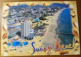 BULGARIA Sunny Beach - Cartolina Viaggiata Per Maglie (LE) ITALIA Il 21 Agosto 2008 - Bulgaria