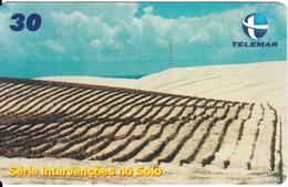 BRAZIL(Telemar) - Intervencoes No Solo, 04/01, Used - Brazil