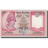 Billet, Népal, 5 Rupees, KM:30a, NEUF - Népal