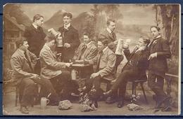 1909 ALEMANIA  , TARJETA POSTAL CIRCULADA , CERVEZA , BREWERIANA , BEER , BAVIERA , FOTOGRÁFICA - Fotografía