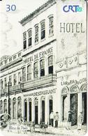 BRAZIL(CRT51) - Hotel De France, Hospedaria, 02/00, Used - Brazil