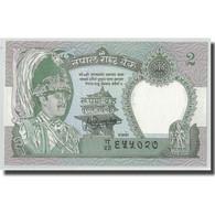 Billet, Népal, 2 Rupees, KM:29b, NEUF - Népal