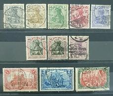 Deutsches Reich 1905 - 1911, Germania & Local Motives, Used, Germany - Deutschland