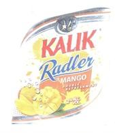 BAHAMAS : KALIK Beer  RADLER MANGO  !!  With Top And Back Label - Beer
