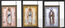 Oman - 1989 - Série Costumes Traditionnels Masculins D'Oman  ( 3 Val ) - MNH * * * - Oman