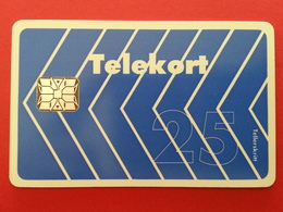 NORVEGE - N 3f , Blue Arrow SI-6 Chip MINT No Blister But Loaded 25u Very Rare NORWAY (CB1217) - Norway