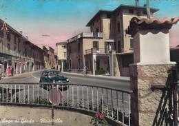 RIVOLTELLA-BRESCIA-LAGO DI GARDA--CARTOLINA VERA FOTOGRAFIA-VIAGGIATA IL 30-8-1959 - Brescia