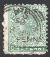 Half Penny On 1d.  SG 181 - 1855-1912 South Australia