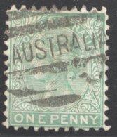 1d. Perf 10  Green  SG 158 - 1855-1912 South Australia