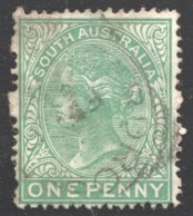 1d. Perf 12½  Green  SG 154 - 1855-1912 South Australia
