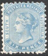 6d. Pale Blue Perf 10  SG 185 MM - Nuevos