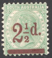 2½d. On 4d. Perf 10  SG 229  MM - Mint Stamps