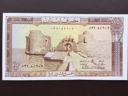 LEBANON P64 25 LIVRES 1964.1993 UNC - Liban