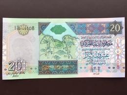 LIBYA P67 20 DINAR 2009 UNC - Libya
