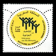 Morocco 2015 Mih. 1850 Solidarity Week MNH ** - Marruecos (1956-...)