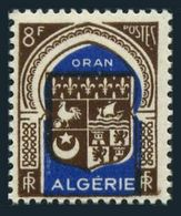 Algeria 223 Block/4,MNH.Michel 274. Arms Of Oran,1948.Sailing Ship,Chicken. - Algeria (1924-1962)