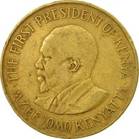 Monnaie, Kenya, 10 Cents, 1970, TTB, Nickel-brass, KM:11 - Kenya