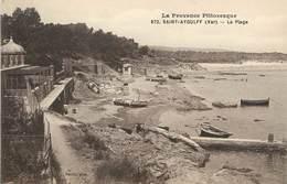 "/ CPA FRANCE 83 ""Saint Aygulf, La Plage"" / PRECURSEUR, Avant 1900 - Saint-Aygulf"