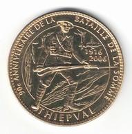 Medaille Arthus Bertrand 80.Thiepval 2 - Le Soldat Debout 2005 SD - Arthus Bertrand