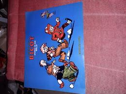 Affichette Publicitaire 27x21 Cm Bicot Branner Editions Azur - Posters