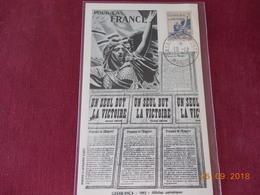 Carte Du Maroc De 1943 - Marocco (1891-1956)