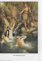 AK 0042  Götterdämmerung - Richard Wagner-Zyklus / Gemälde Von Ferd. Leeke , München Um 1920 - Wagner, Richard