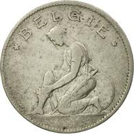 Monnaie, Belgique, Franc, 1923, Bruxelles, TB+, Nickel, KM:90 - 1909-1934: Albert I