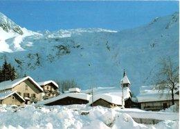 Massif Du Mont Blanc Le Village Du Tour Et Son Glacier 1996 CPM Ou CPSM - Chamonix-Mont-Blanc