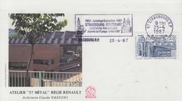 Enveloppe  FDC  Flamme   1er   Jour   FRANCE   EUROPA   1987 - Europa-CEPT