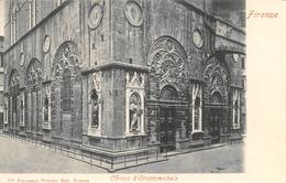 Firenze - Chiesa D'Orsammichele - Carta Non Inviata - Napoli (Naples)