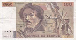 France - Billet De 100 Francs Type Delacroix - 1995 - 1962-1997 ''Francs''