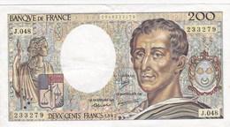 France - Billet De 200 Francs Type Montesquieu - 1987 - 1962-1997 ''Francs''