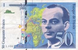 France - Billet De 50 Francs Type Saint-Exupéry - 1997 - 1992-2000 Dernière Gamme
