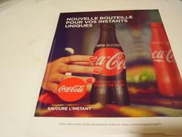 ANCIENNE PUBLICITENOUVELLE BOUTEILLES COCA COLA - Posters
